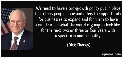 Pro-Growth quote #2