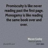 Promiscuity quote #2