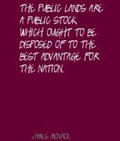 Public Lands quote
