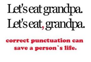 Punctuation quote #2