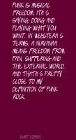 Punk Rock quote #2