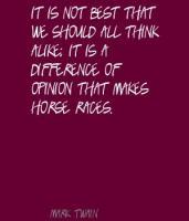Races quote #5