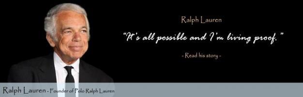 Ralph Lauren's quote
