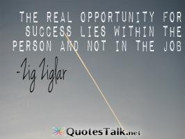 Real Opportunity quote