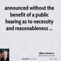 Reasonableness quote #2