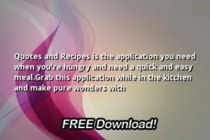 Recipes quote #3