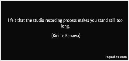Recording Session quote #2