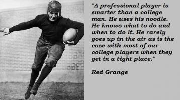 Red Grange's quote
