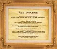 Restoration quote #2