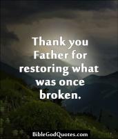 Restoring quote #1