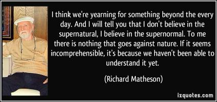 Richard Matheson's quote #3