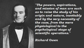 Richard Owen's quote