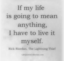 Rick Riordan's quote