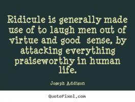 Ridicule quote