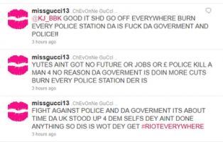 Rioting quote