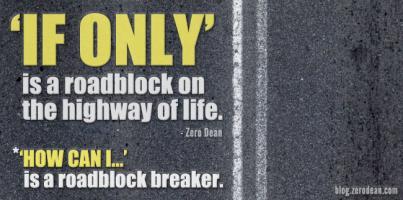 Roadblock quote #1