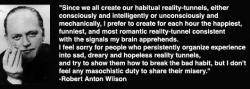 Robert Anton Wilson's quote