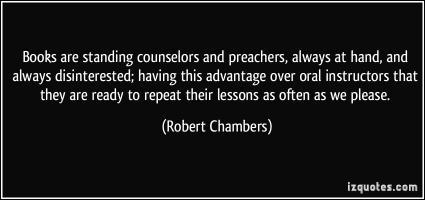 Robert Chambers's quote #1