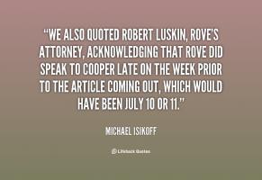 Robert Luskin's quote #2