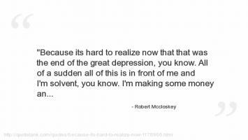 Robert McCloskey's quote #2