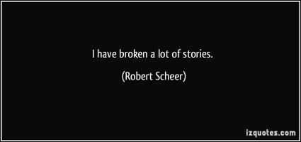 Robert Scheer's quote
