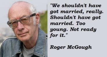 Roger McGough's quote