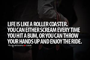 Roller Coaster Ride quote #2
