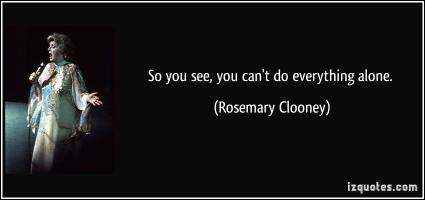 Rosemary Clooney's quote #4