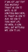 Ross MacDonald's quote