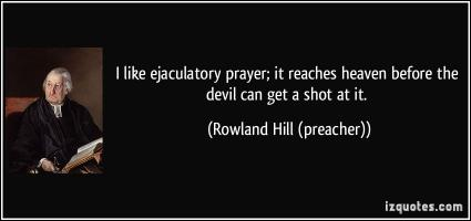 Rowland Hill's quote