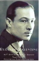 Rudolph Valentino's quote