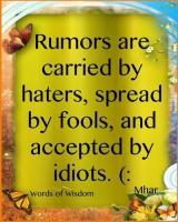 Rumor quote #2