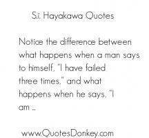 S. I. Hayakawa's quote #5
