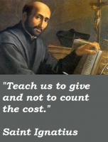 Saint Ignatius's quote #6