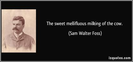 Sam Walter Foss's quote #1