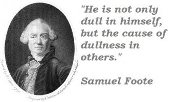 Samuel Foote's quote #2