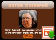 Sarah Caldwell's quote #4