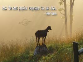 Scapegoat quote #1