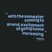 Semester quote #1