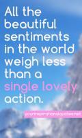 Sentiments quote #1