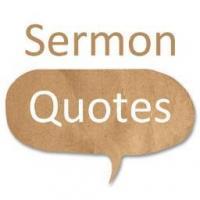 Sermon quote #1