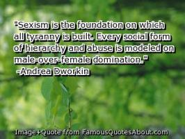 Sexism quote #1