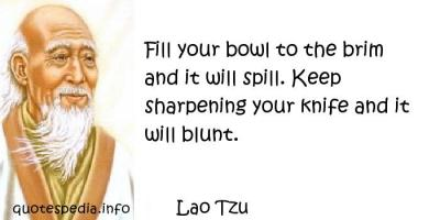Sharpening quote
