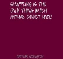Shuffling quote #2