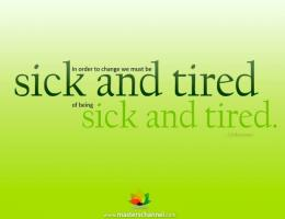 Sick And Tired quote #2