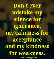 Silences quote #1