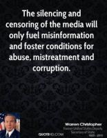 Silencing quote #2