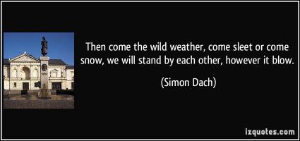 Simon Dach's quote