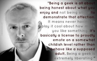 Simon Pegg's quote