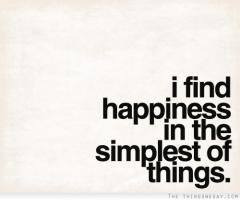Simple Things quote